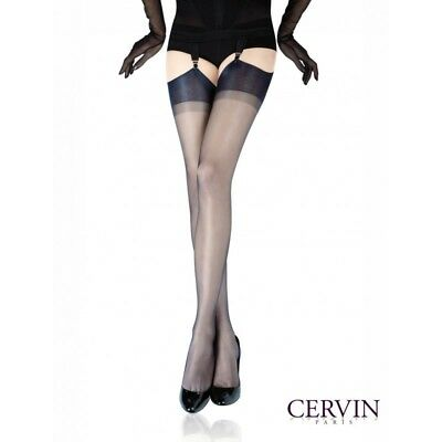 Genuine Cervin Capri 15 Denier Fully Fashioned 100% Nylon Stockings