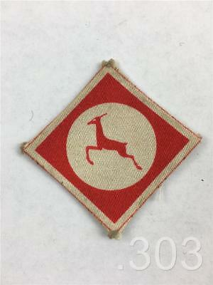 British Element Trieste Force BETFOR XIII 13th Corps Cloth Formation Badge Patch