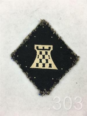 British Army Military 11th XI Corps Printed Cloth Formation Badge Patch
