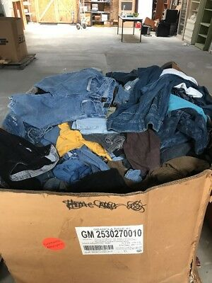 Assorted Blue Jeans, American Eagle, Levi's, Wrangler, LEi And More $5300 Retail