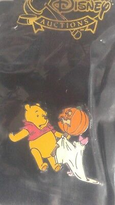 2003 Halloween Piglet In Ghost Costume With Pooh Disney Auctions Le 500 Pin, Moc
