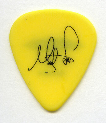 Boston Michael Sweet 2008 Yellow Guitar Pick Authentic Original