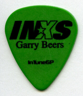 INXS Garry Beers 2006 Switched On Tour Guitar Pick Authentic Original