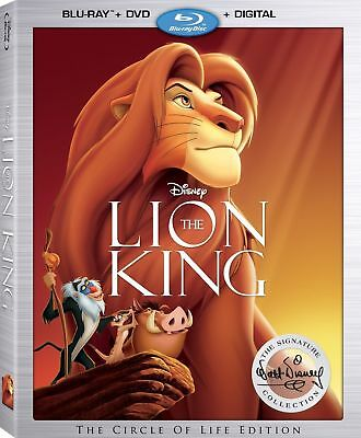 ✔NEW The Lion King Signature Collection (Blu ray/DVD, Digital) + slipcase 2017