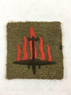 British Army Military 5th Anti Aircraft Division Cloth Formation Badge Patch
