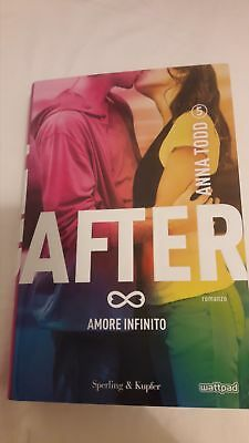 After 5 Amore infinito, Anna Todd, copertina rigida