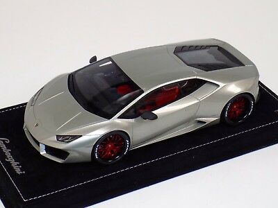 1/18 MR Collection Lamborghini Huracan Red Wheels Customized by AB Models