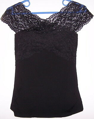 Top Play In Noir Special Grossesse Taille M/l Neuf