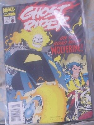 GHOST RIDER Issue 57 January 1995 Marvel Comics co starring Wolverine