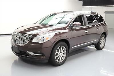 2017 Buick Enclave Leather Sport Utility 4-Door 2017 BUICK ENCLAVE LEATHER AWD 7-PASS DUAL SUNROOF 20K #170228 Texas Direct Auto