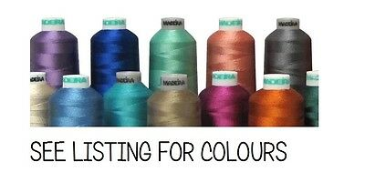 Madeira Classic 40 Machine Embroidery Thread 1000m reel  - Any 5 for £15