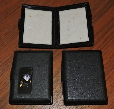 3 Small fly boxes