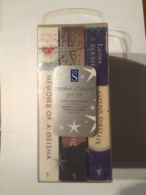 Modern classics 3 book gift set WH Smiths