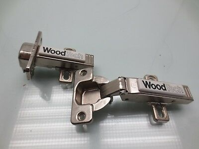10 Pack Blum 175L6660.22 Face-Frame 6mm 1//2-inch Setback Clip Mounting Plate