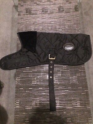 Barbour Quilted Dog Jacket - Black - Small