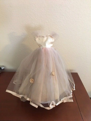 Vintage Madame Alexander Cissy Doll Dress Pink Gown Tulle