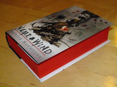 Patrick Rothfuss :  The Name of the Wind 10th anniversary triple-signed 1st edn