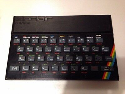 sinclair zx spectrum 48K Working (located in Cambridge)