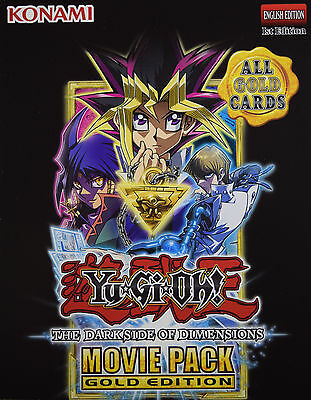 YuGiOh DARK SIDE OF DIMENSIONS MOVIE GOLD EDITION MVP1 CHOOSE gold RARE CARDS