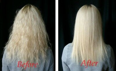 Brazilian Keratin Straightening Hair Treatment Kit/Salt Free Shampoo+Conditioner