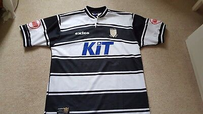 2001-2002 Hull FC Rugby league Shirt adult  Size Large KIT