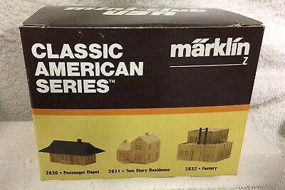 Marklin Z Gauge Classic American Series Ranch House Item # 2638