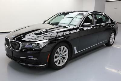 2017 BMW 7-Series  2017 BMW 740I HTD LEATHER SUNROOF NAV REAR CAM 7K MILES #739862 Texas Direct