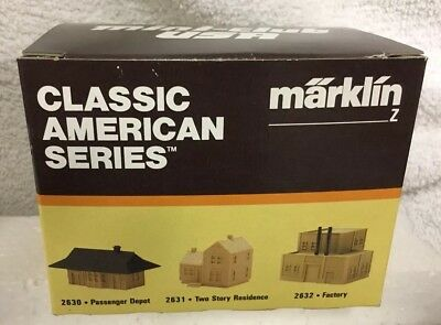 Marklin Z Gauge Classic American Series Two Story House Item # 2631