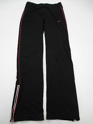 NIKE #P3827 Women's Size XS Athletic Fitness Fit Dry Running Black Yoga Pants