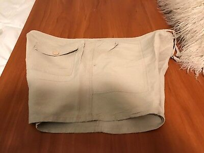 WOMENS  CARCN SPORT SHORTS SIZE 1X- PRE OWNED LINEN. Size20 Waist