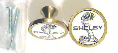 Shelby Cobra Cabinet Knobs, Ford shelby cobra Logo Cabinet Knobs, Shelby Auto
