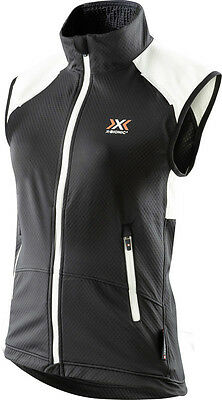 New X-Bionic Cross Country Lady Winter Spherewind Light Vest Large