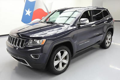 2014 Jeep Grand Cherokee Limited Sport Utility 4-Door 2014 JEEP GRAND CHEROKEE LTD 4X4 SUNROOF NAV 20'S 43K #245079 Texas Direct Auto