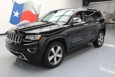 2016 Jeep Grand Cherokee Overland Sport Utility 4-Door 2016 JEEP GRAND CHEROKEE OVERLAND PANO ROOF NAV 31K MI #415464 Texas Direct Auto