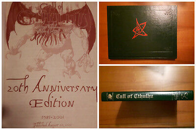 IL RICHIAMO DI CTHULHU GdR Call of Cthulhu NUOVO Chaosium 20th LIMITED EDITION