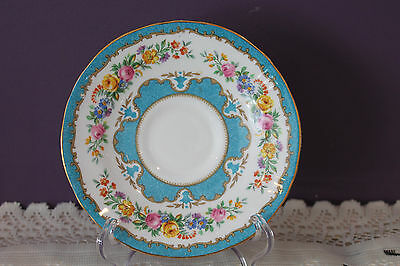 Crown Staffordshire Blue Lyric Tunis Saucer (Only) - England