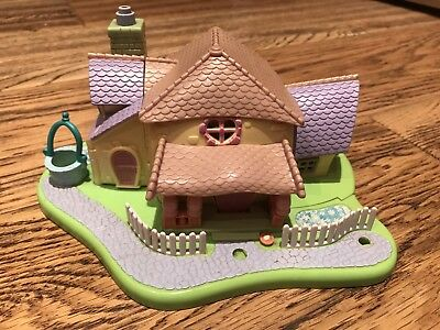 Vintage Polly Pocket Disney Minnie Mouse Surprise Party House +Working Light VGC