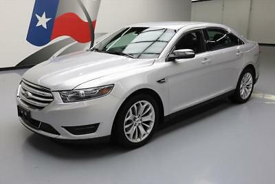 2016 Ford Taurus Limited Sedan 4-Door 2016 FORD TAURUS LIMITED AWD CLIMATE SEATS REAR CAM 29K #112968 Texas Direct