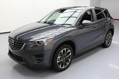 2016 Mazda CX-5 Grand Touring Sport Utility 4-Door 2016 MAZDA CX-5 GRAND TOURING LEATHER SUNROOF NAV 18K #701952 Texas Direct Auto