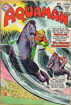 Aquaman Vol 1 # 12 / V.good+ / Dc 1963 / Aqualad.