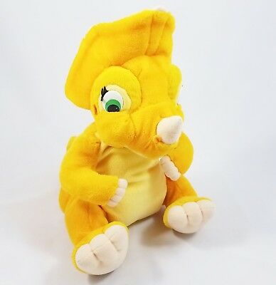 "The Land Before Time Cera Dinosaur Plush Toy Animal 1996 Equity Toys 12"" Tall"