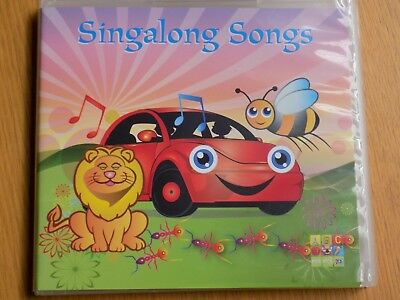 SINGALONG SONGS CD 2010 ABC For Kids AS NEW! Sing A-long Nursery Rhymes Along