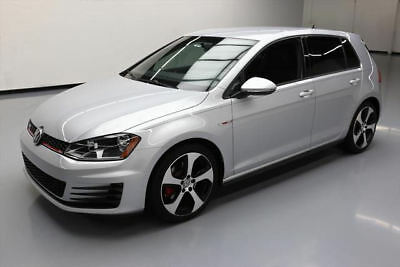 2017 Volkswagen Golf  2017 VOLKSWAGEN GTI S 6-SPEED REAR CAM HTD SEATS 7K MI #007060 Texas Direct Auto