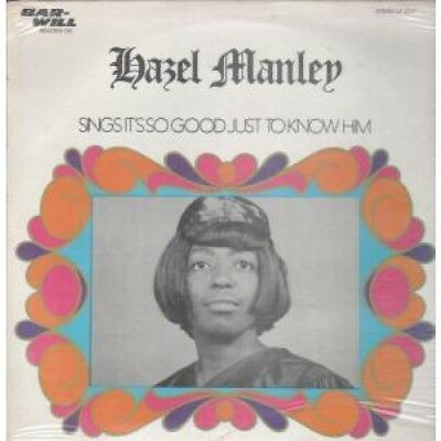 HAZEL MANLEY Sings It's So Good Just To Know Him LP VINYL US Bar-Will 11 Track