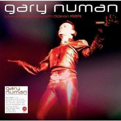 GARY NUMAN Live At Hammersmith Odeon 1989 LP VINYL European Demon 10 Track Red