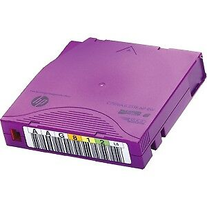 NEW! Hp Data Cartridge Lto-6 Labeled 20 Pack 2.50 Tb Native / 6.25 Tb Compressed