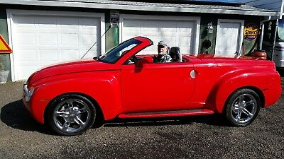 2005 Chevrolet SSR  Redline Red 2005 Chevrolet SSR with upgrades