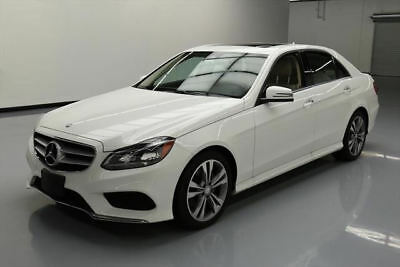 2016 Mercedes-Benz E-Class  2016 MERCEDES-BENZ E350 SPORT SUNROOF NAV HTD SEATS 13K #303789 Texas Direct
