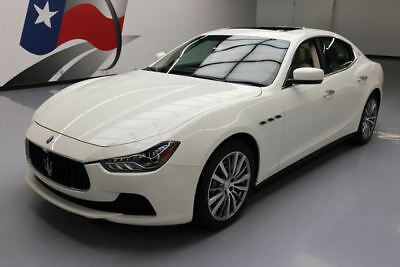 2014 Maserati Ghibli Base Sedan 4-Door 2014 MASERATI GHIBLI TURBO SUNROOF NAV REAR CAM 23KK #085589 Texas Direct Auto