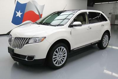 2014 Lincoln MKX  2014 LINCOLN MKX CLIMATE LEATHER PANO ROOF NAV 20'S 19K #L17056 Texas Direct